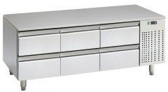 Unterbau-Kühltisch UKT PRO 16GN 6