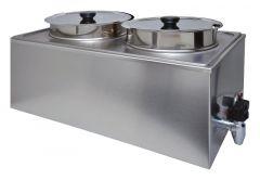 Suppenstation 2x 4 Liter