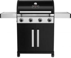 BBQ-Gas-Grill 1400 BLACK mit 4 Brennern
