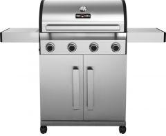 BBQ-Gas-Grill 1400 SILVER mit 4 Brennern