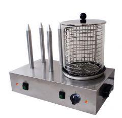 Hot Dog Wärmer mit 4 Spießen ECO