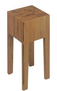 Hackklotz 40x40x20 aus gezargtem Holz