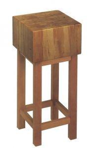 Hackklotz 50x50x30 aus gezargtem Holz