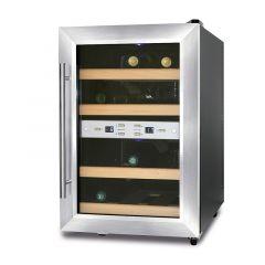 Weinkühlschrank mit 2 Temperaturzonen für 12 Flaschen