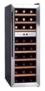 Weinkühlschrank mit 2 Temperaturzonen für 27 Flaschen