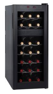 Weinkühlschrank mit 2 Temperaturzonen für 21 Flaschen