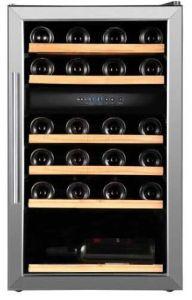 Weinkühlschrank mit 2 Temperaturzonen für 38 Flaschen